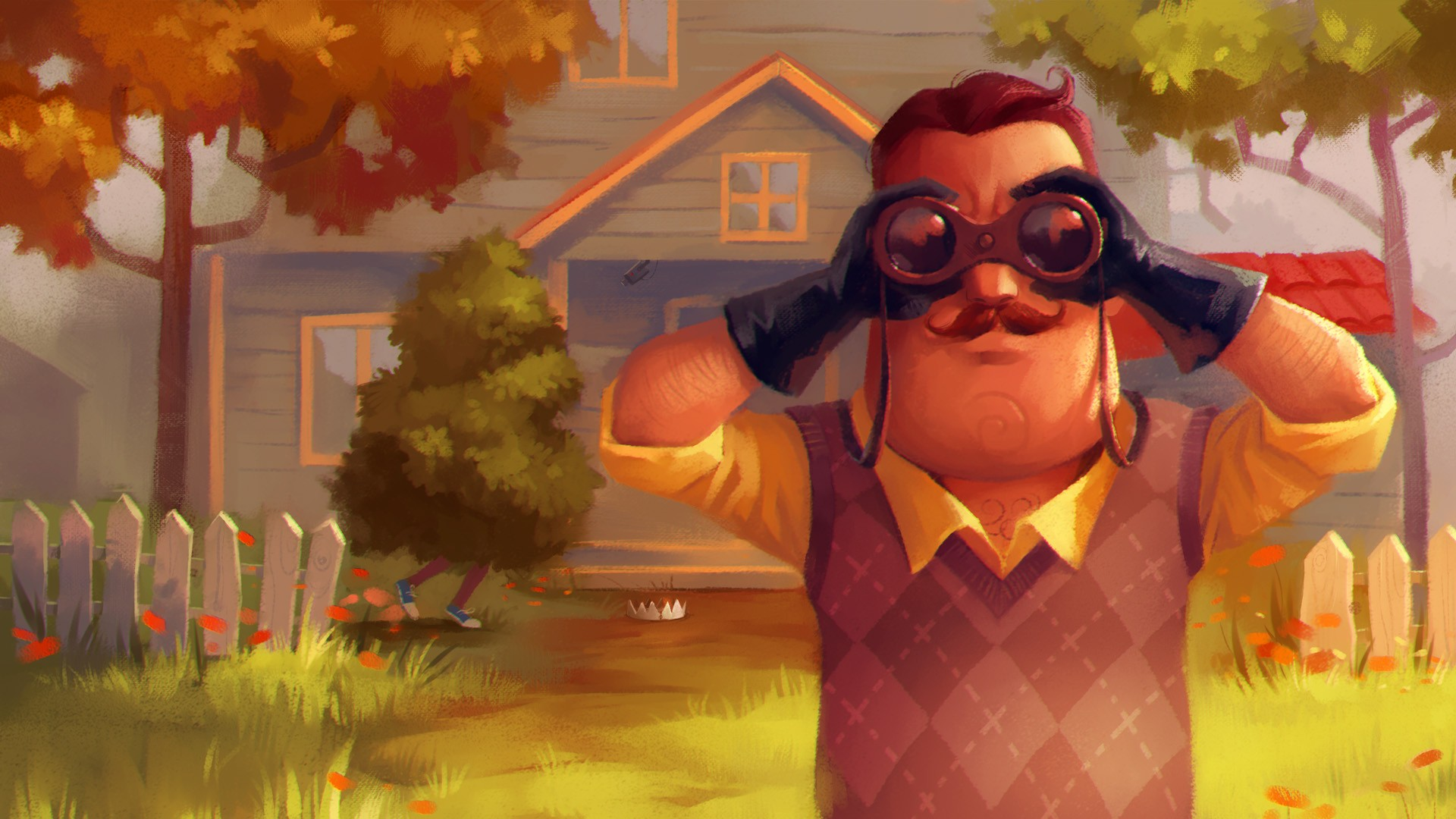 hello neighbor delay