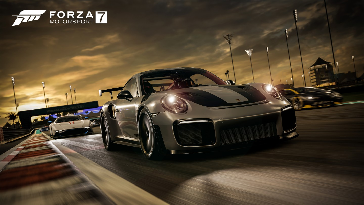 Forza 7 Porsche in the Lead 4K