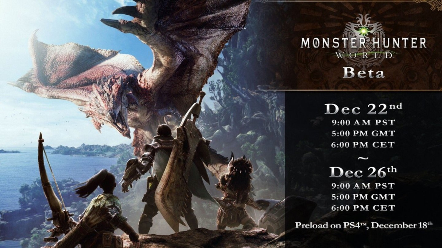 monster hunter beta